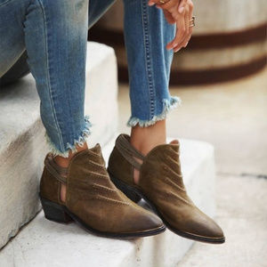 NEW FREE PEOPLE Southern Cross Ankle Boots 37